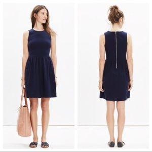 Madewell Size XXS Afternoon Dress Navy